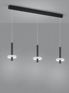 LED-3er-Pendelleuchte KEA schwarz