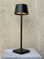 LED-Akku-Tischleuchte ORANGE ONE schwarz