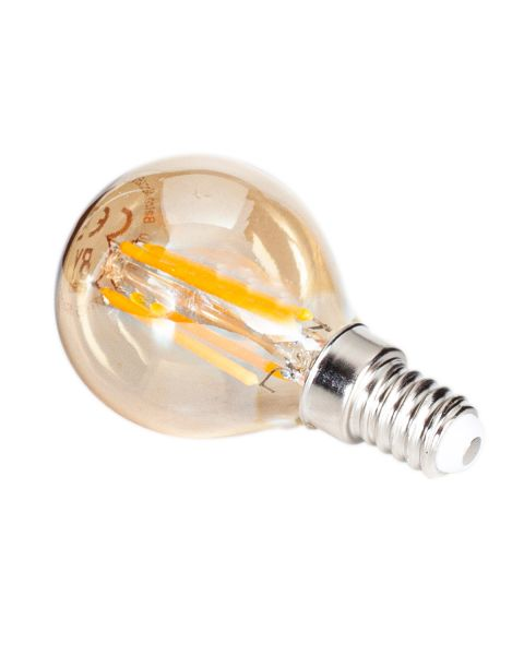 Zubehör LED Filament dimmbar 45mm Amber