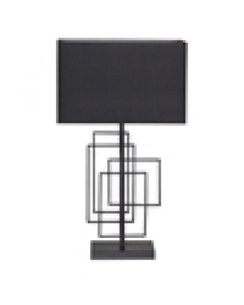 Tischleuchte Paragon 52 cm Schwarz matt