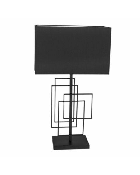 Tischleuchte Paragon 69 cm Schwarz matt