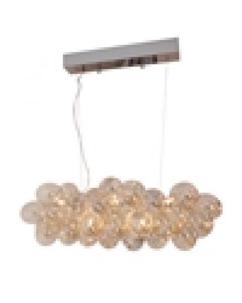 LED-Pendelleuchte Gross Bar L 80 cm Amber