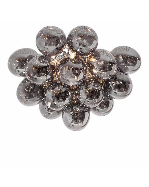 LED-Deckenleuchte Gross 50 cm Rauchgrau