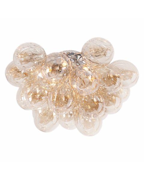 LED-Deckenleuchte Gross 50 cm Amber