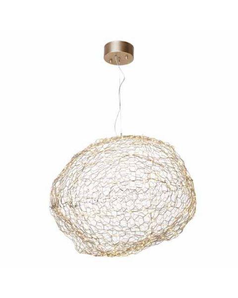 LED-Pendelleuchte Hyden 60 cm Gold