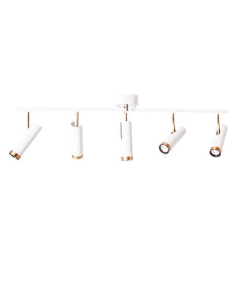 Deckenleuchte Puls Bar Spotlight 5-flam Weiß matt
