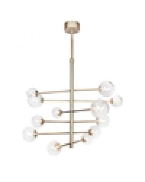LED-Pendelleuchte Avenue Gold