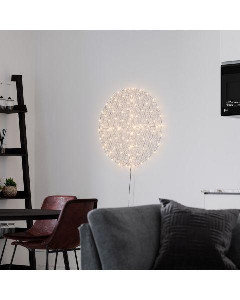 LED-Wandleuchte Hayden LED Schwarz matt