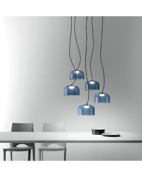 5er-LED-Pendelleuchte BELL