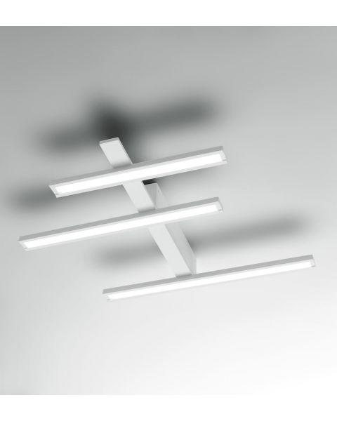 LED-Deckenleuchte REVIEW weiß 62x52cm