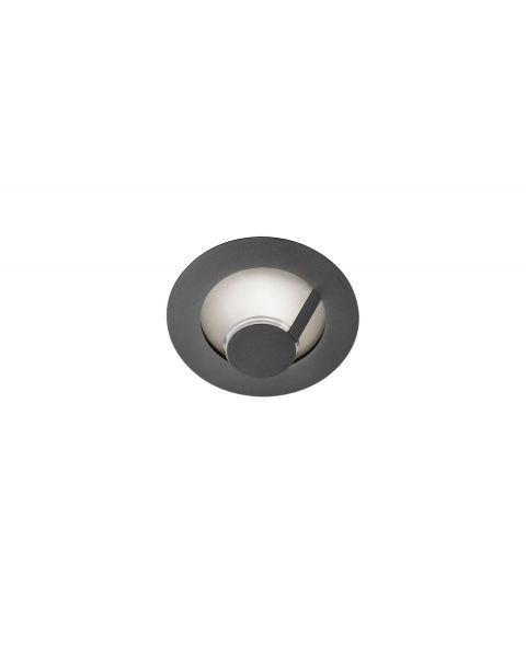 LED-Wand-/Deckenleuchte FLAT SMART 29cm grau/silber