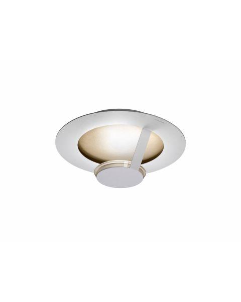 LED-Wand-/Deckenleuchte FLAT SMART 36cm weiß/gold