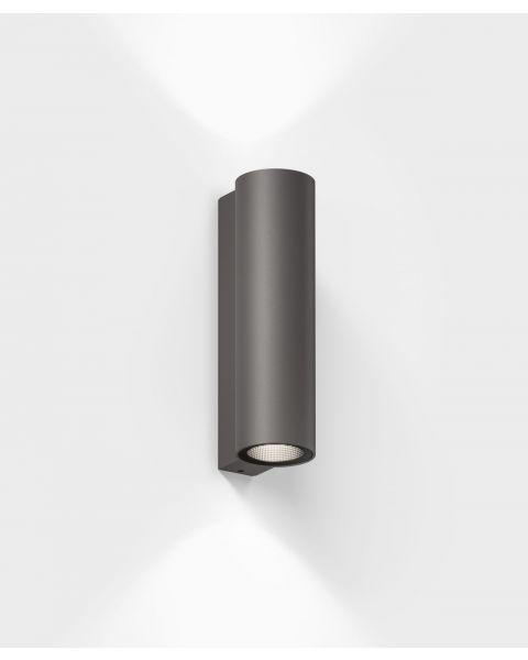 LED-Wandaußenleuchte SCAP braun