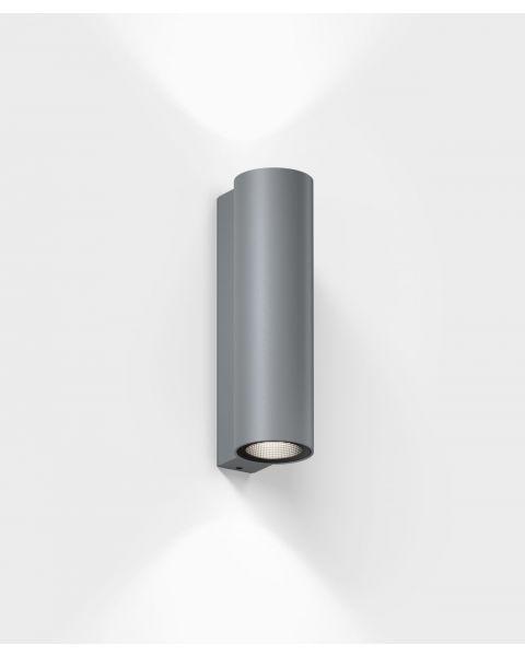 LED-Wandaußenleuchte SCAP grau
