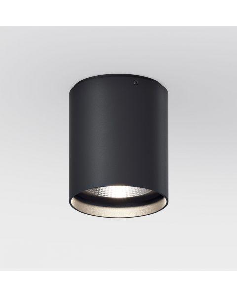 LED-Deckenspot UP R schwarz (rund)