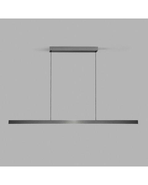 LED-Pendelleuchte EDGE LINEAR 200cm titan