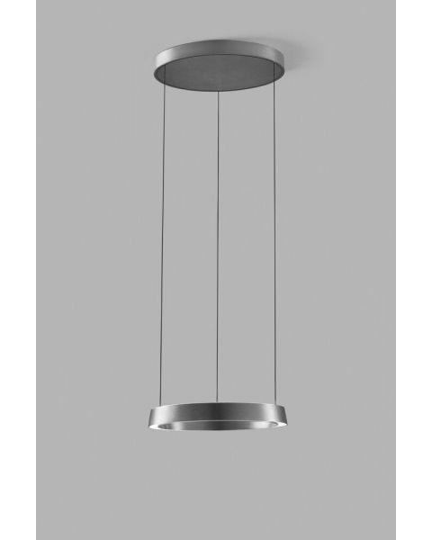 LED-Pendelleuchte EDGE ROUND 50cm titan