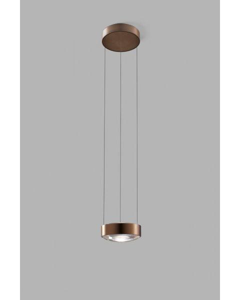 LED-Einzelpendelleuchte ORBIT rosegold