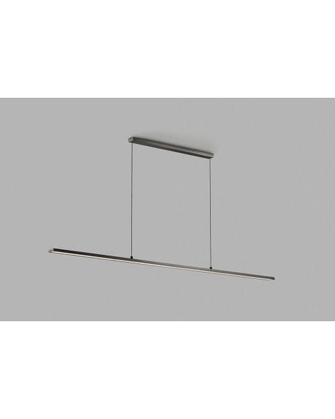 LED-Pendelleuchte SLIM 120cm schwarz