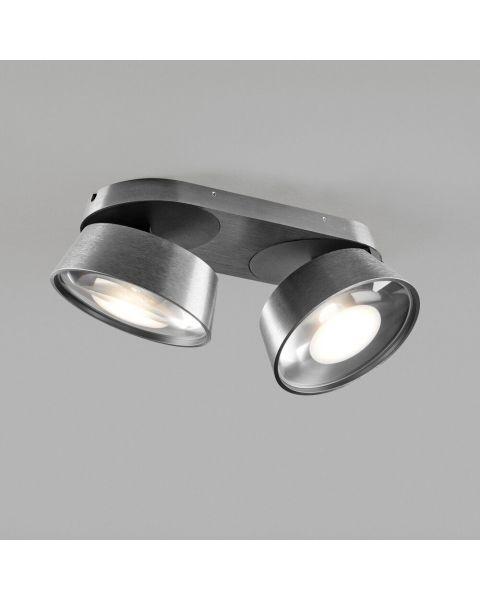 2er-LED-Spot VANTAGE 28x13cm titan