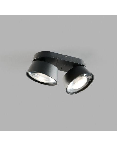 2er-LED-Spot VANTAGE 22x10cm schwarz