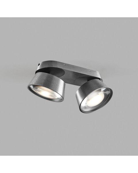 2er-LED-Spot VANTAGE 22x10cm titan