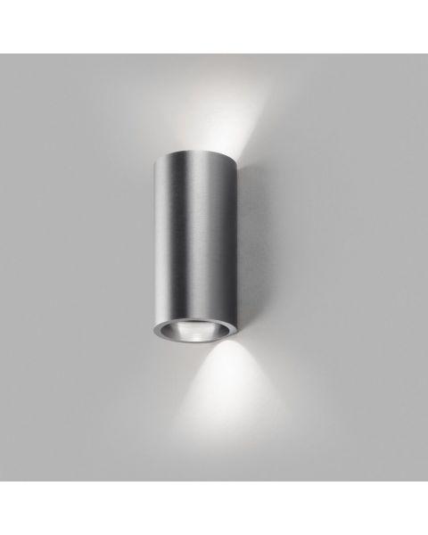 LED-Wandleuchte ZERO 15cm titan