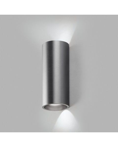 LED-Wandleuchte ZERO 20cm titan