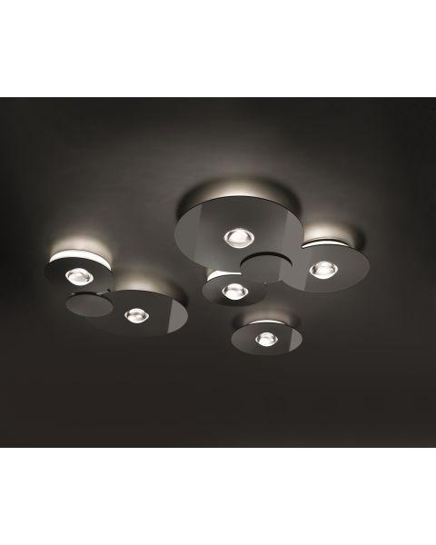 LED-Deckenleuchte BUGIA schwarz