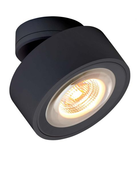 LED-Spot LUXX schwarz (dim-to-warm)