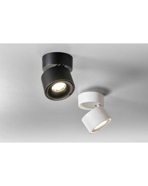 LED-Deckenspot BLOC schwarz/weiß 2700/3000K