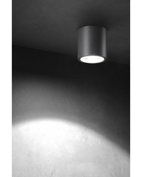 LED-Deckenaußenleuchte TUBUS anthrazit