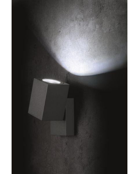 LED-Wandaußenleuchte MOVIMENTO anthrazit
