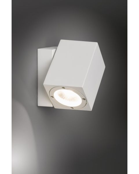 LED-Wandaußenleuchte MOVIMENTO weiß