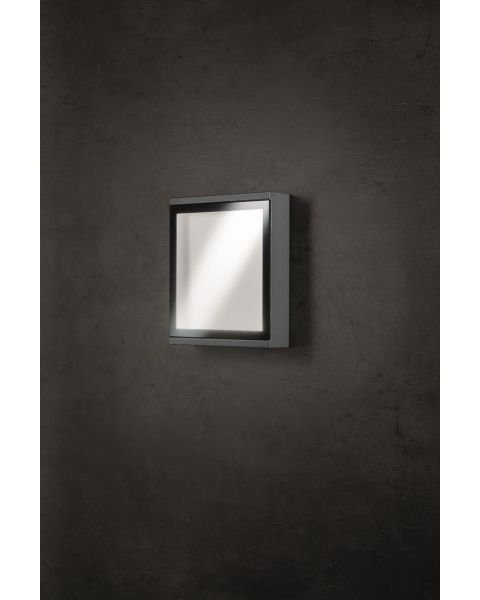 LED-Wandaußenleuchte WINDOW anthrazit