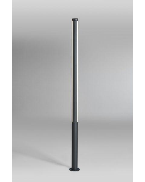 LED-Pollerleuchte LANK 200cm anthrazit