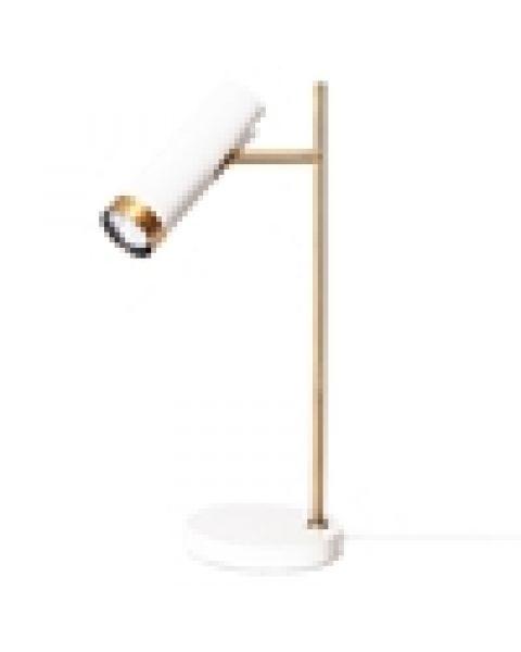 LED-Tischleuchte Puls 49 cm Weiß matt