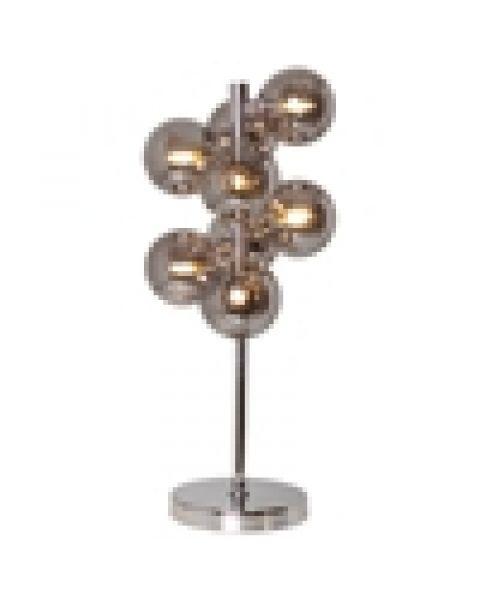 LED-Tischleuchte Splendor 55 cm Chrom