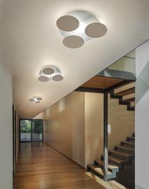 Braga NUVOLA 3er LED-Wand-/Deckenleuchte 2092/PL35C