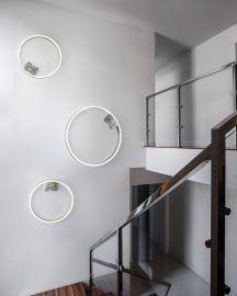 LED-Wand-/Deckenleuchte LOOP 75cm