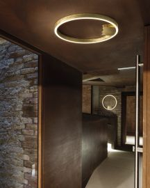 LED-Wand-/Deckenleuchte LOOP 60cm