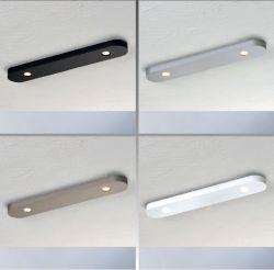 2er-LED-Deckenleuchte CLOSE D2W 30cm