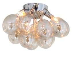 LED-Deckenleuchte Gross 30 cm Amber
