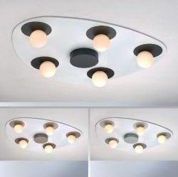 5er-LED-Deckenleuchte PLANETS