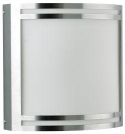 LED-Wandaußenleuchte Edelstahl
