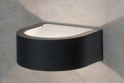 Hausmarke LED-Wandaußenleuchte KATO AL 11-1155 anthrazit