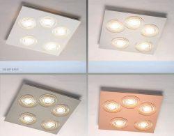 LED-Deckenleuchte GALAXY 35x35cm
