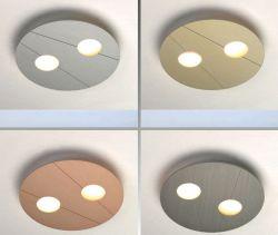 LED-Wand-/Deckenleuchte GRAFICO D2W 26cm