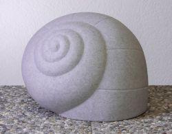 Außenleuchte Schnecke granit E27