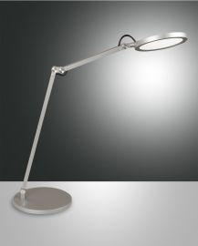Fabas Luce LED-Tischleuchte REGINA Alu 3551-30-212